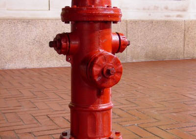 Downtown_Charlottesville_fire_hydrant  | Public Works Civil Engineering Services